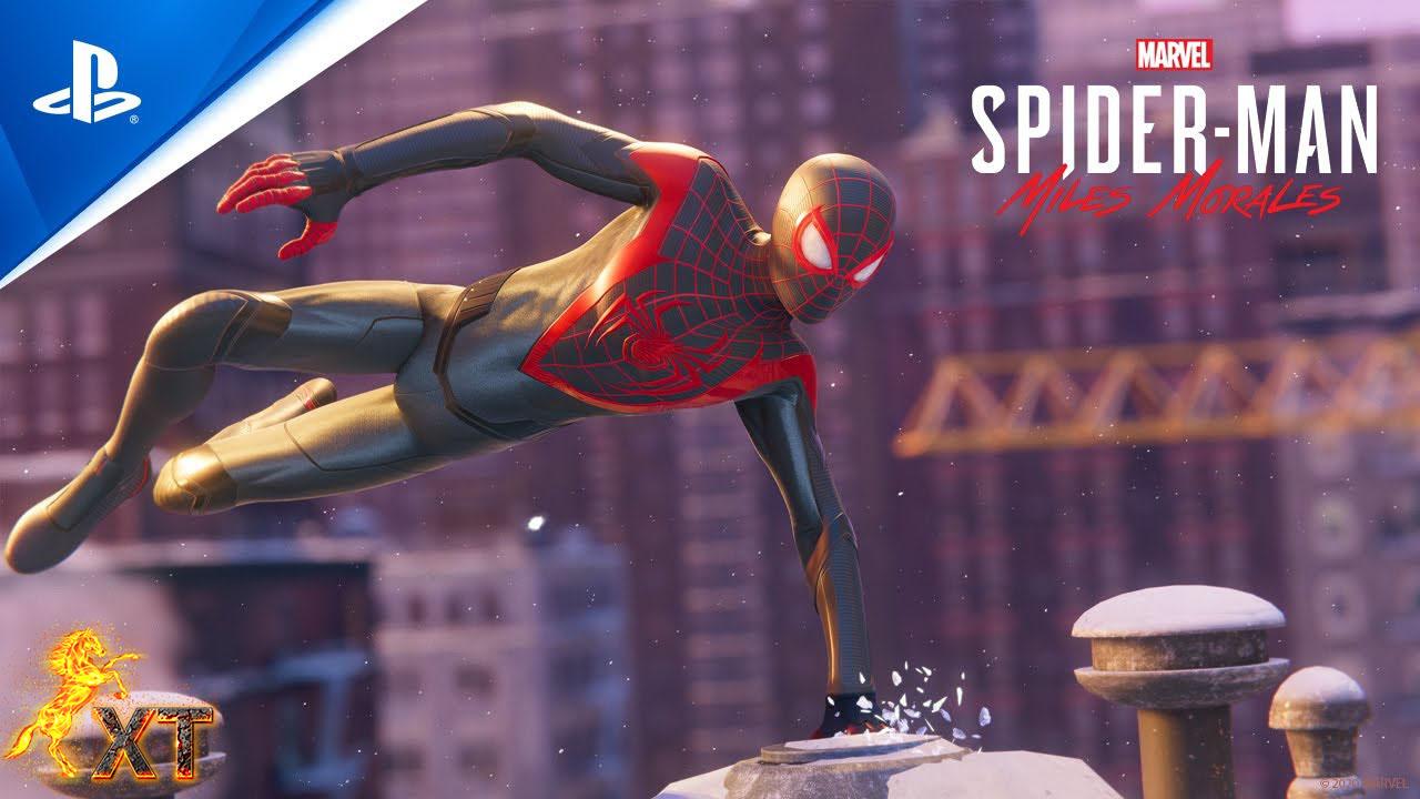 لانچ تریلر بازی Spider Man Miles Morales منتشر شد